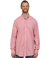 Nautica Big & Tall - Big & Tall Long Sleeve Stripe Poplin