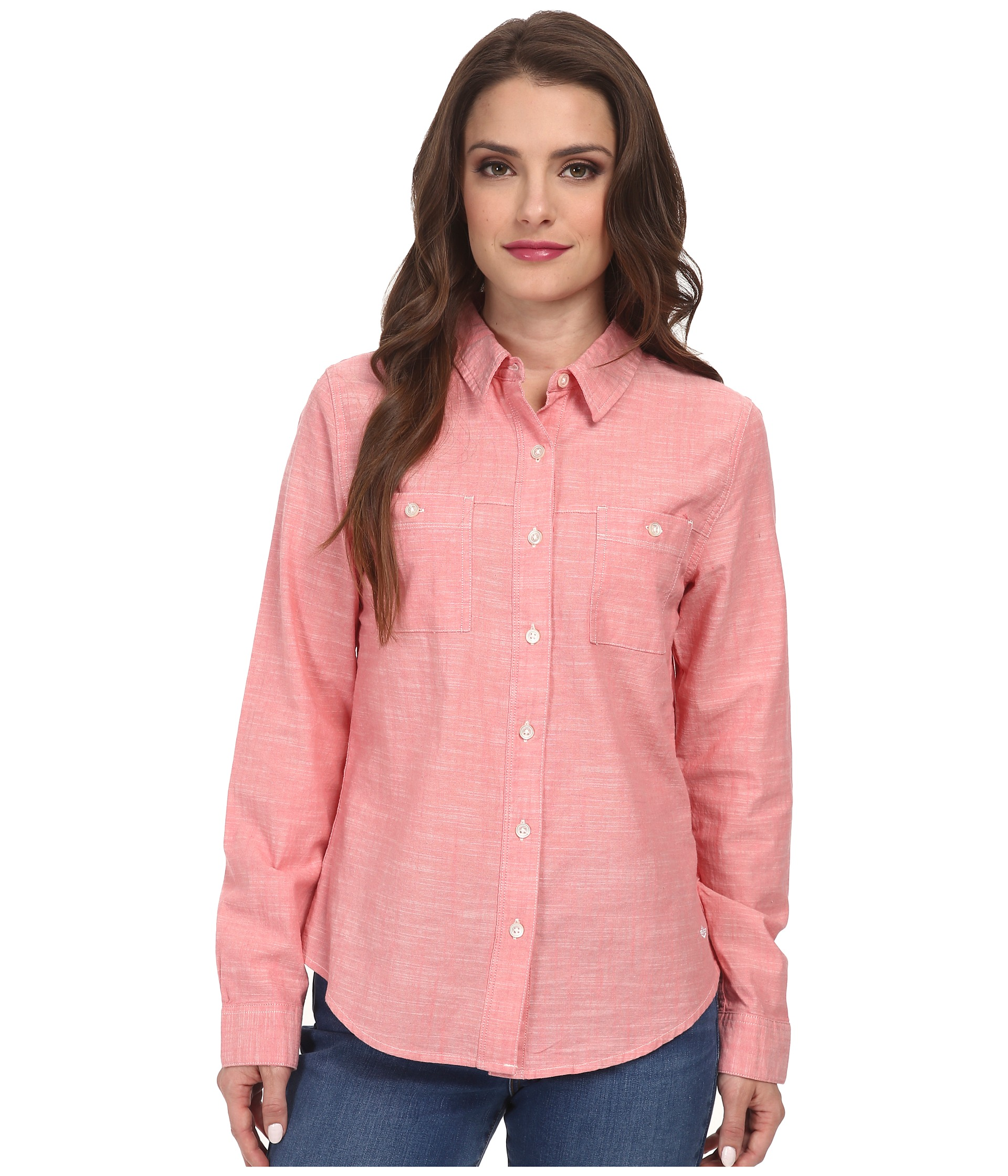 Dockers petite petite spring chambray shirt for Chambray shirt for kids