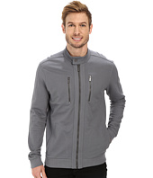 Calvin Klein - Long Sleeve Full Zip Moto Sweatshirt