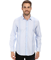 Calvin Klein - Liquid Cotton Variegated Stripe Woven Shirt