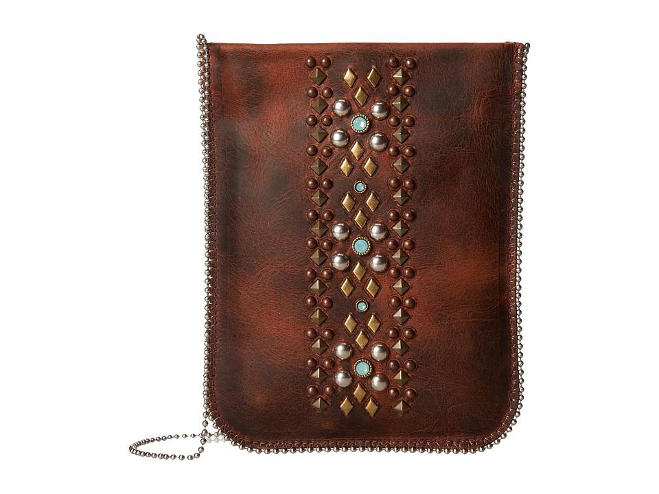 Leatherock - CP60 (Tobacco) Cross Body Handbags