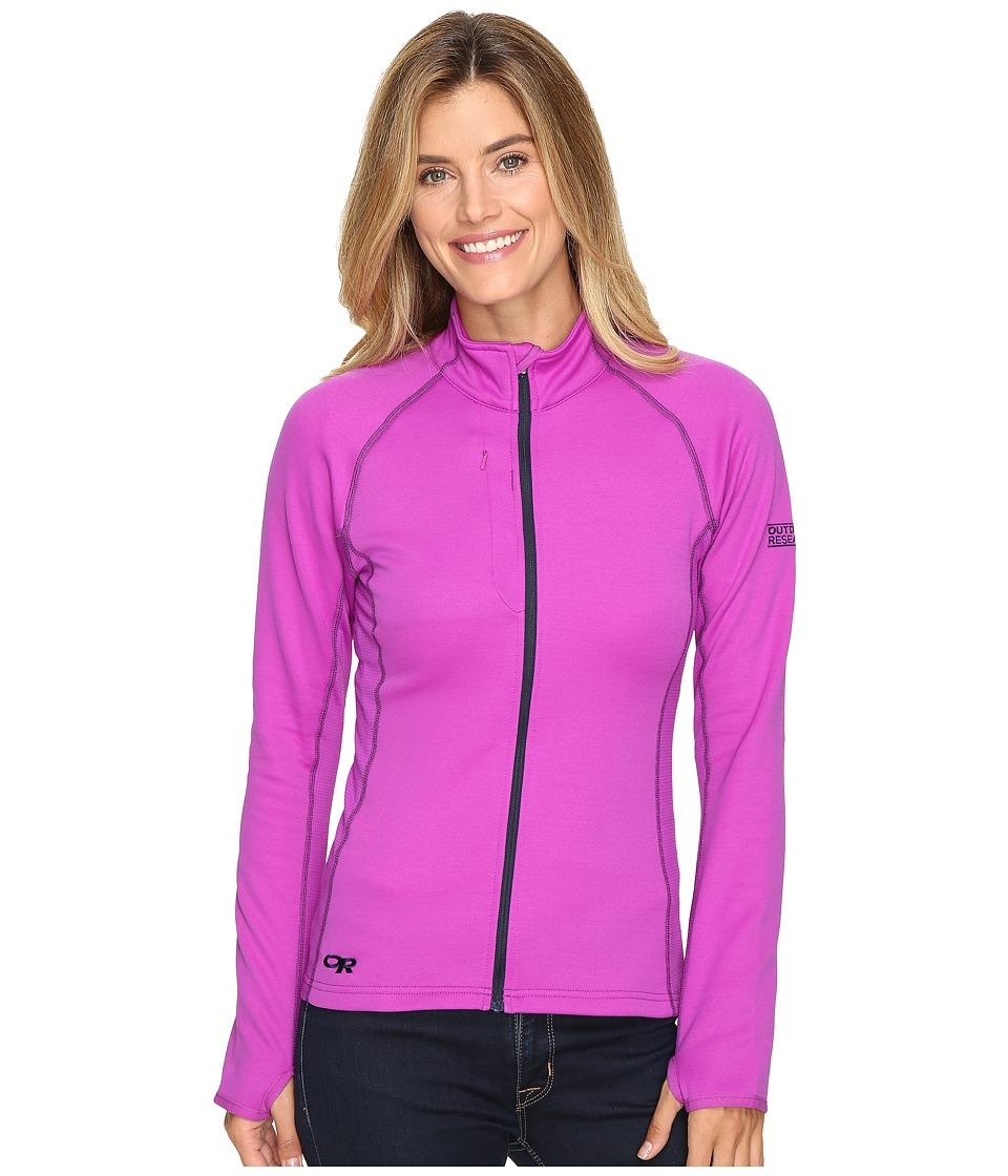 Outdoor Research - Radiant Hybrid Jacket (Ultraviolet/Night) Womens Fleece