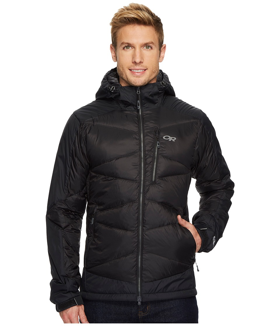 Outdoor Research Diode Hooded Jacket (Black) Men's Coat