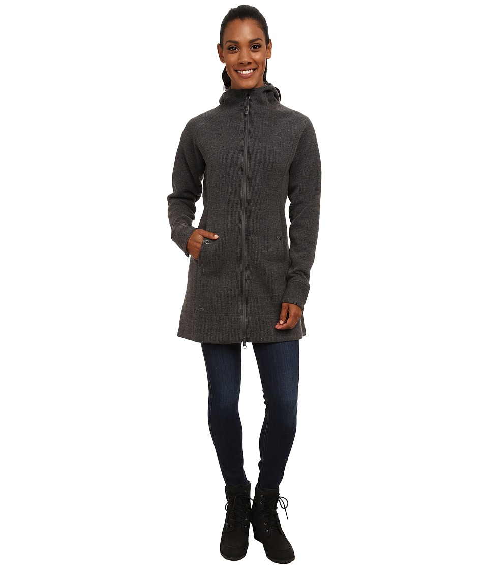 Outdoor Research Salida Long Hoodie (Charcoal) Women's Coat