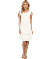 BCBGMAXAZRIA - Wilma Multi Stitch A Line Dress