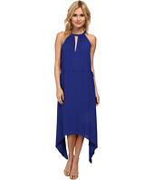 BCBGMAXAZRIA - Keelie Keyhole Front Halter Dress