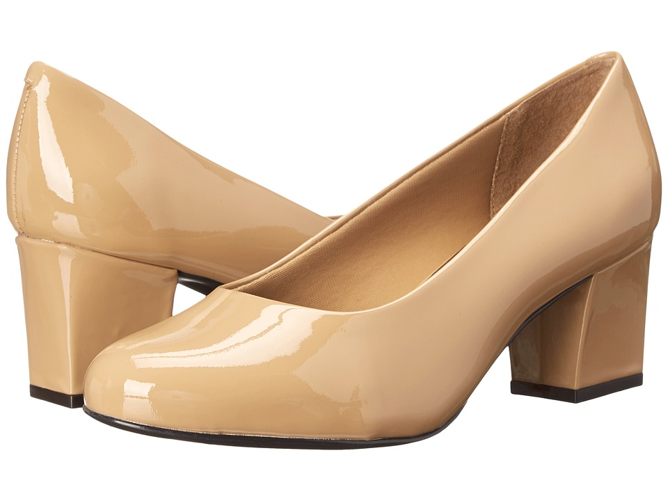 Trotters Candela (Nude Soft Patent Leather) High Heels