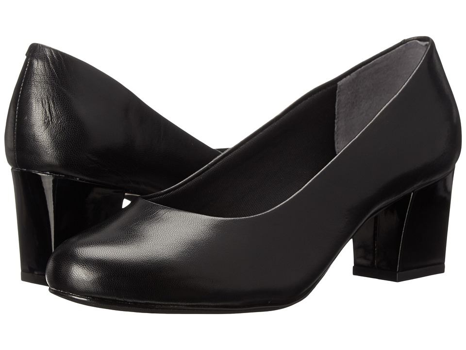 Trotters Candela (Black Dress Kid Leather) High Heels