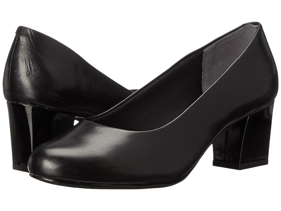 Trotters - Candela (Black Dress Kid Leather) High Heels
