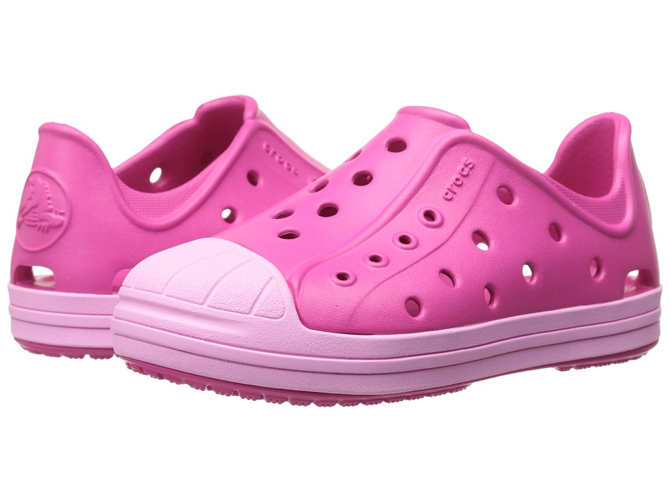 Crocs Kids Bump It Shoe Toddler/Little Kid Candy Pink/Carnation Girls Shoes