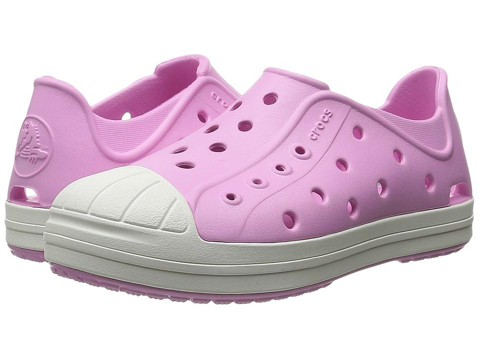 Crocs Kids Bump It Shoe Toddler/Little Kid Carnation/Oyster Girls Shoes
