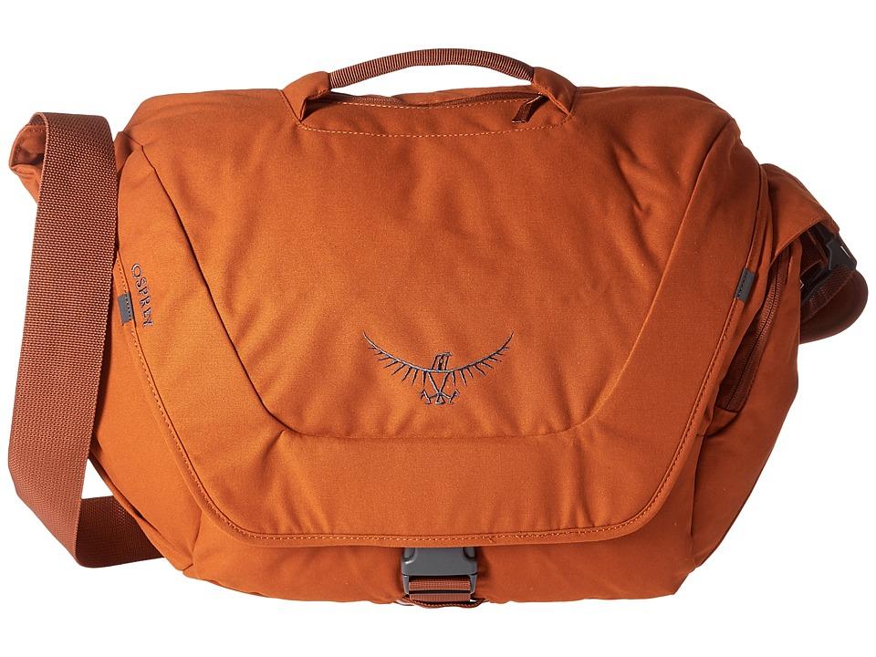 Osprey - FlapJack Courier (Burnt Orange) Bags