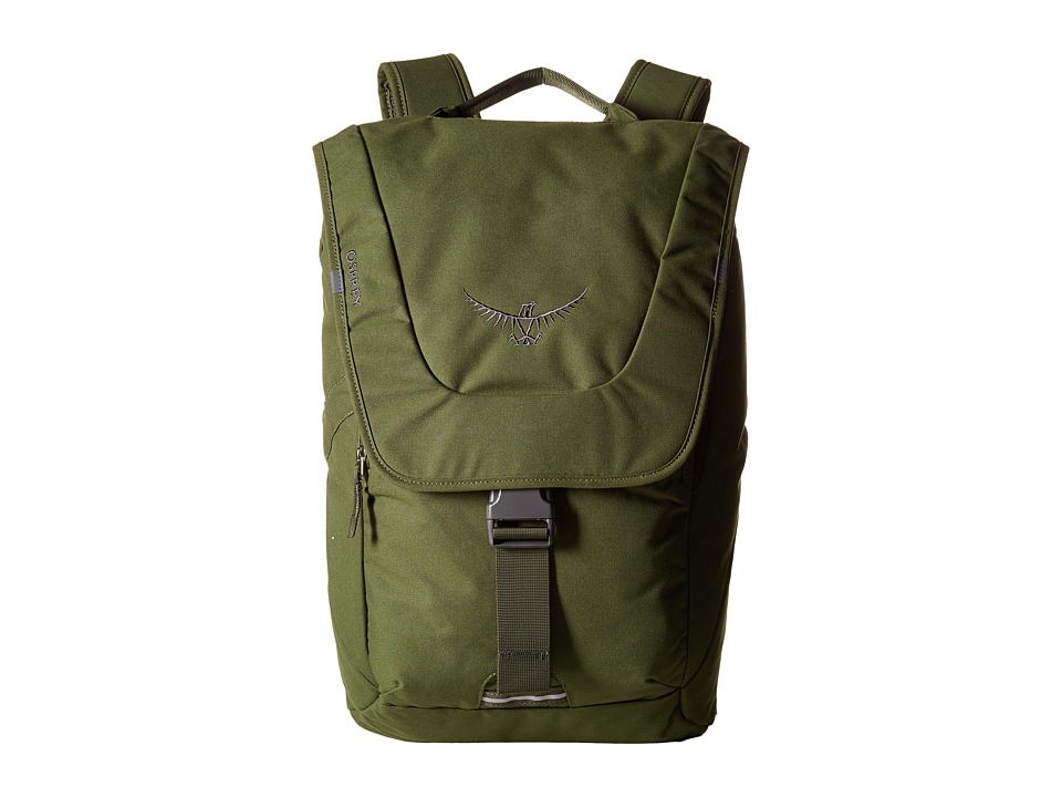 Osprey FlapJack Pack (Peat Green) Backpack Bags