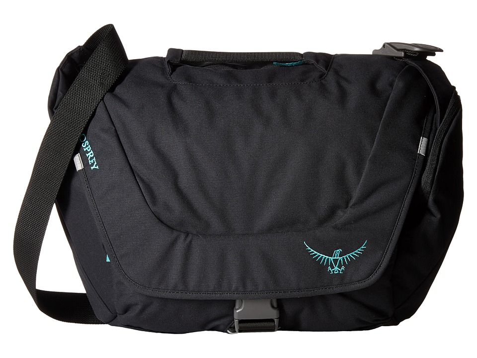 Osprey Flapjill Courier Black Bags