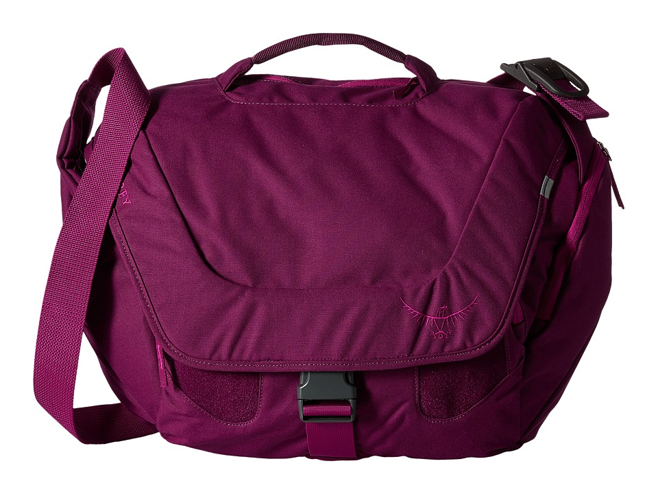 Osprey Flapjill Courier Dark Magenta Bags