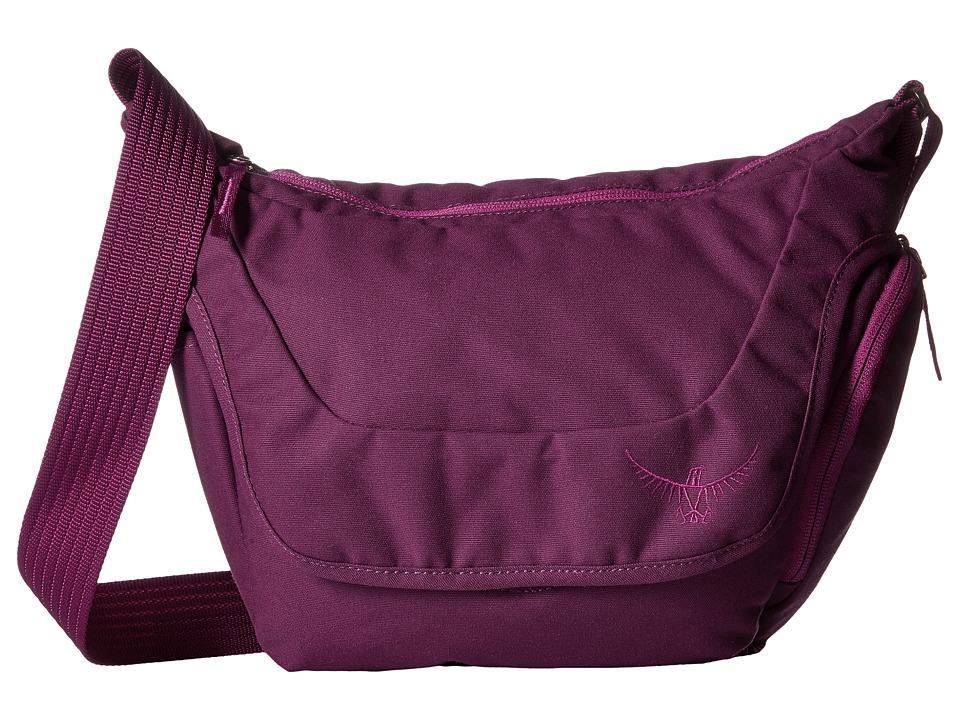 Osprey Flapjill Micro Dark Magenta Backpack Bags