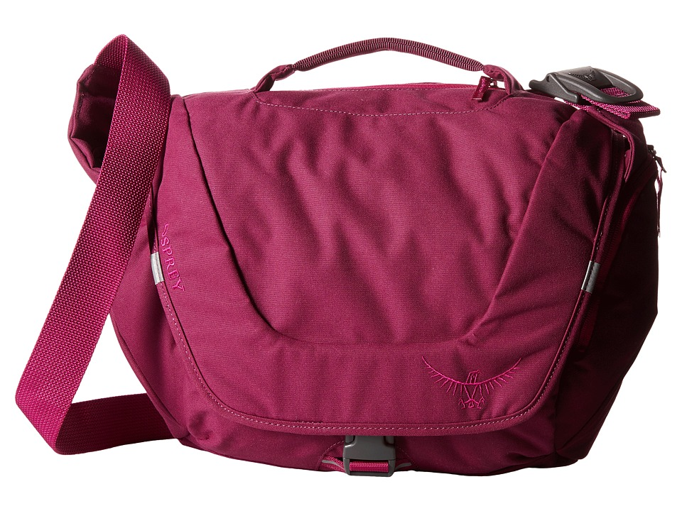 Osprey Flapjill Mini Dark Magenta Shoulder Handbags