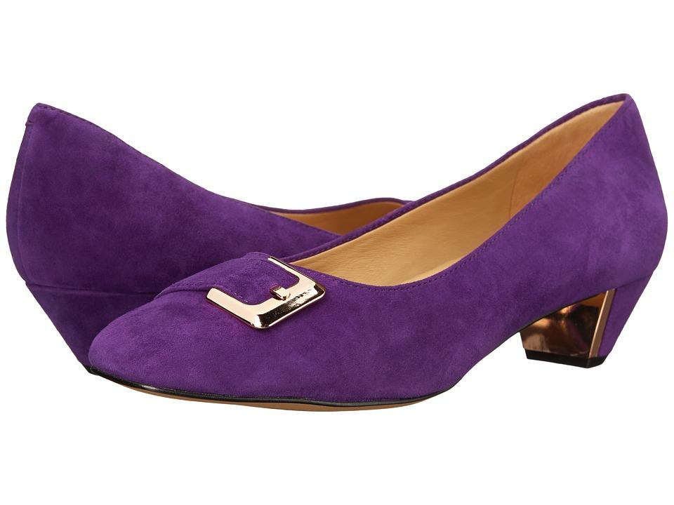 Trotters - Fancy (Purple Kid Suede Leather) Women