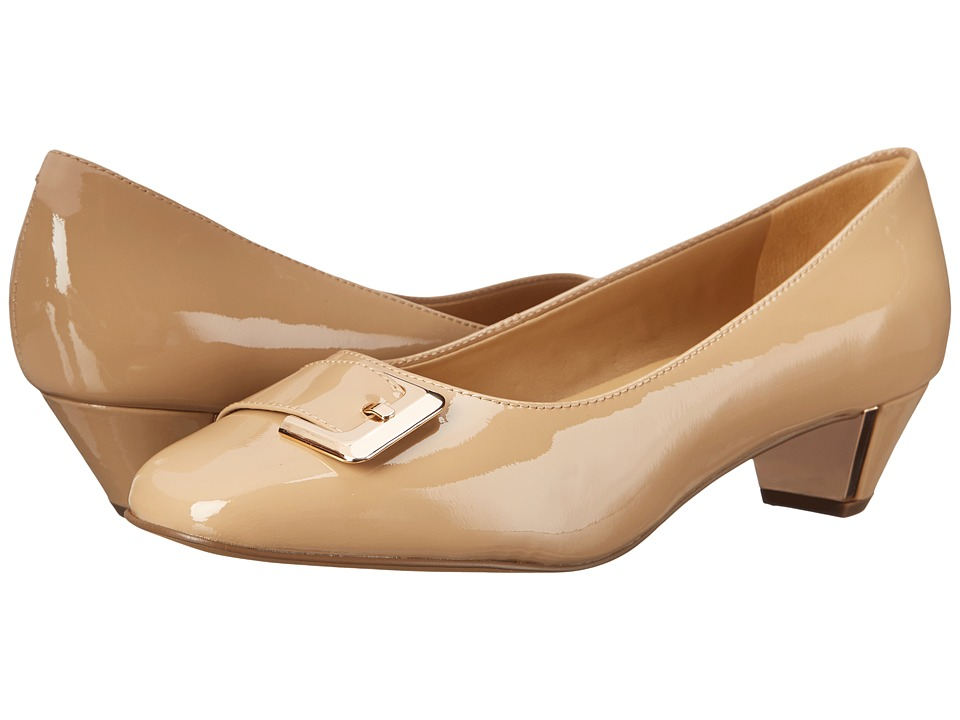 Trotters - Fancy (Nude Soft Patent Leather) Women