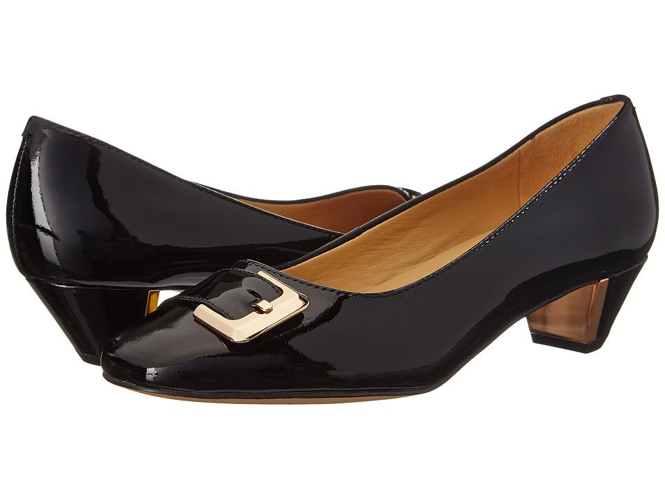 Trotters - Fancy (Black Soft Patent Leather) Women
