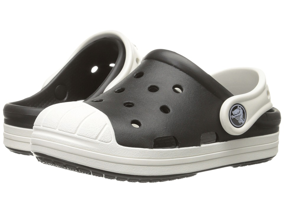 Crocs Kids Bump It Clog Little Kid/Big Kid Black/Oyster Kids Shoes