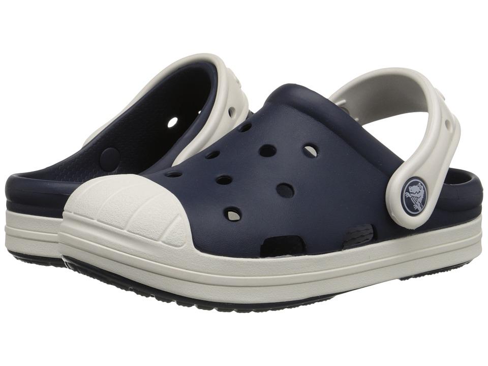 Crocs Kids Bump It Clog Little Kid/Big Kid Navy/Oyster Kids Shoes