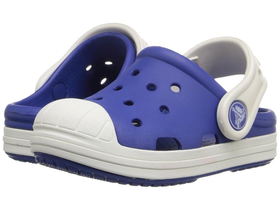 Crocs Kids Bump It Clog Little Kid/Big Kid Cerulean Blue/Oyster Kids Shoes