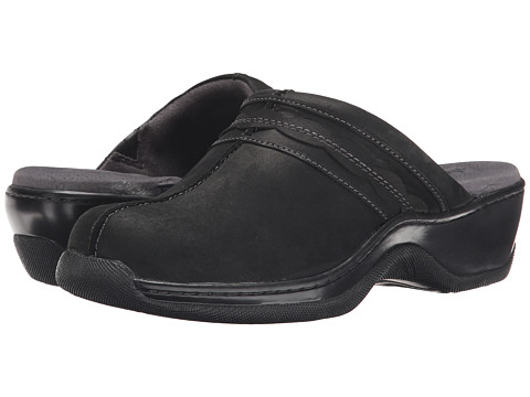 SoftWalk Abby - Black Oily Leather