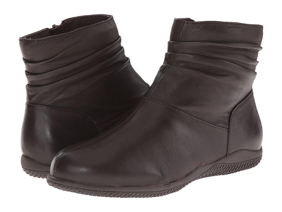 SoftWalk - Hanover (Dark Brown Soft Nappa Leather) Women