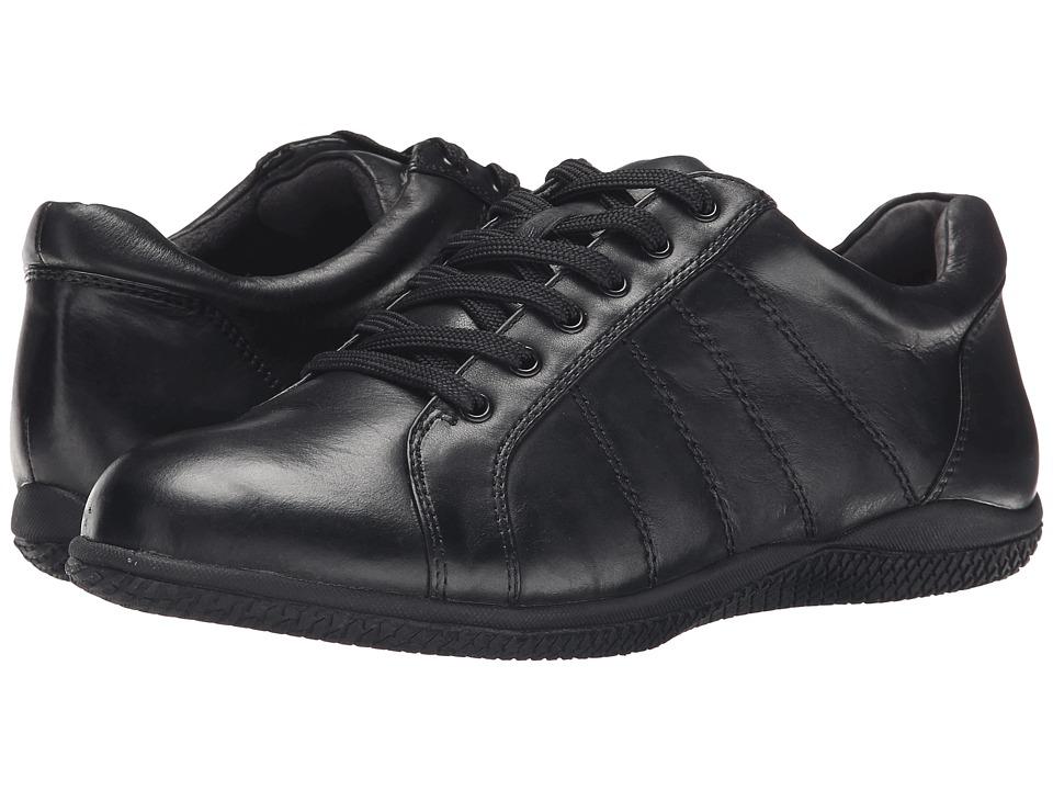 SoftWalk - Hickory (Black Soft Tumbled Leather) Women