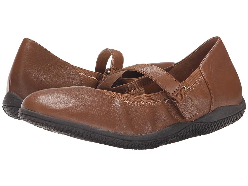 SoftWalk - Hollis (Luggage Soft Tumbled Leather) Women