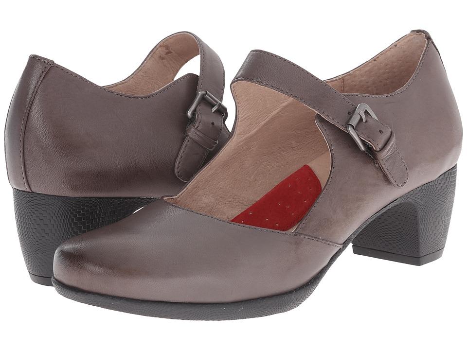 SoftWalk - Irish (Dark Grey Kid Leather) High Heels