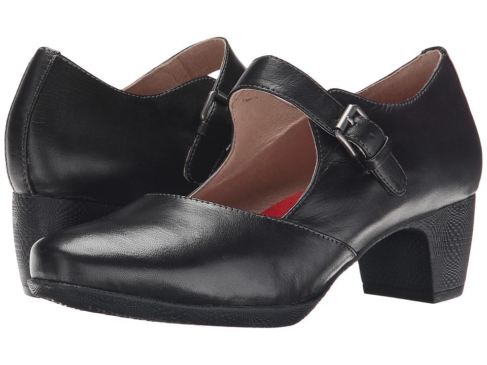 SoftWalk - Irish (Black Kid Leather) High Heels