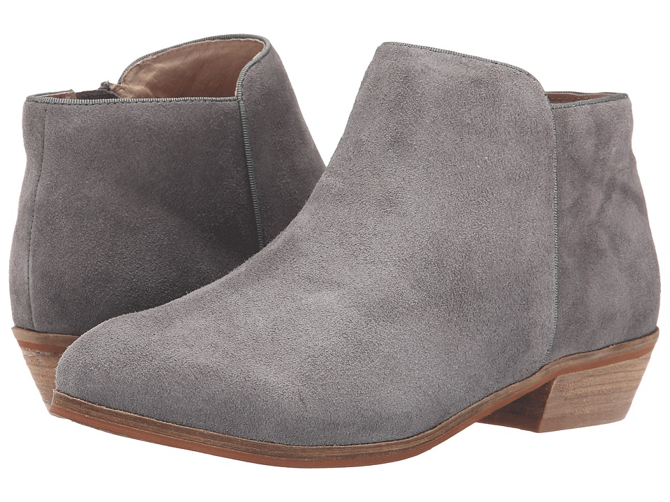 SoftWalk Rocklin Graphite Suede Leather Womens Shoes