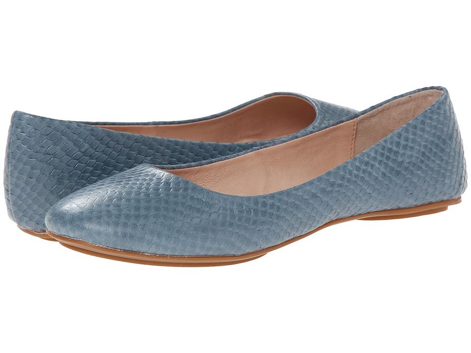 Miz Mooz Phaedra Blue Womens Flat Shoes