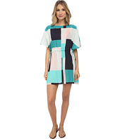 Kate Spade New York - Mykonos Color Block Pull-Cord Dress