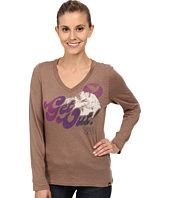 Life is good - Cool Vee Long Sleeve Tee