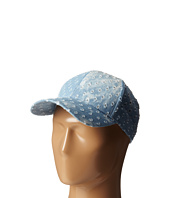 Steve Madden - Distressed Denim Baseball Cap