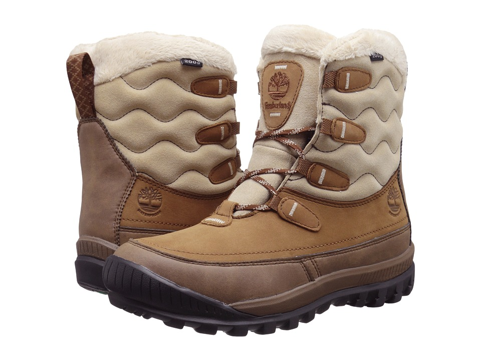 Timberland - Woodhaven Mid Waterproof Insulated (Brown) Women