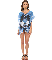 Seafolly - Inked Stripe Odyssey Top Cover-Up
