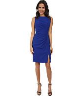 Calvin Klein - Ruched Front Sheath Dress