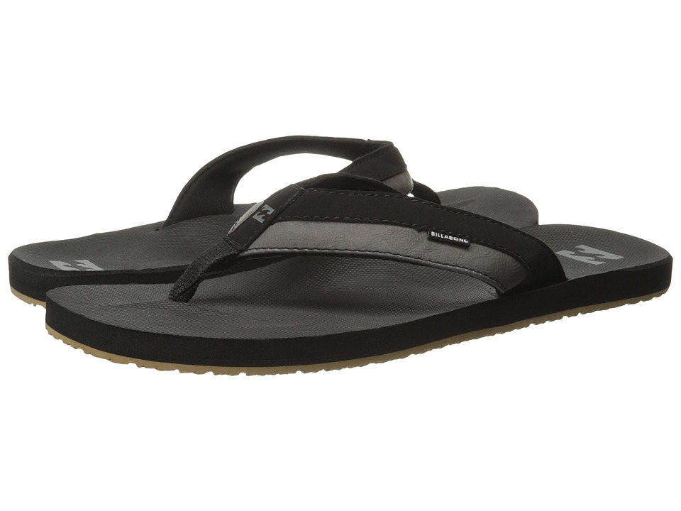 Billabong - All Day Impact Sandal (Black) Men's Sandals
