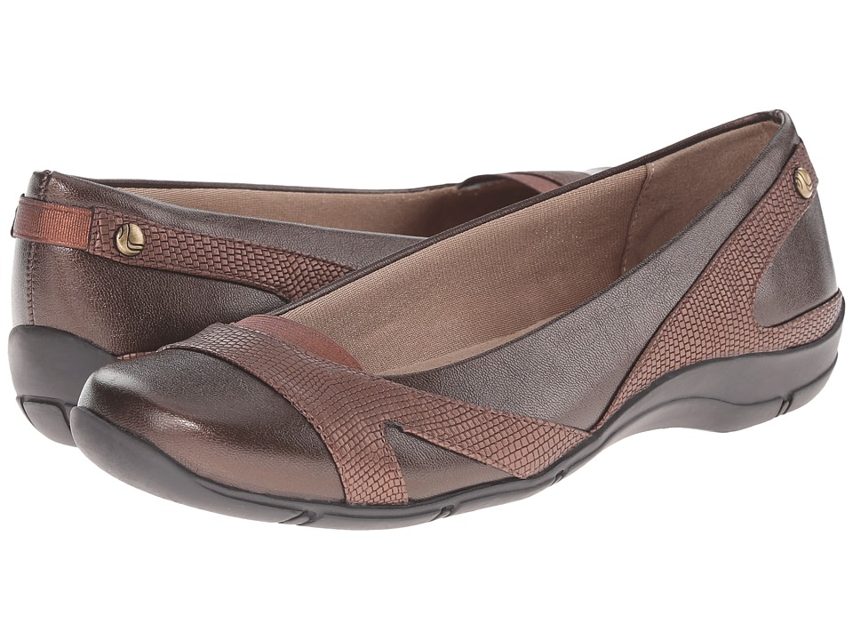 LifeStride Drama Bronze Womens Shoes