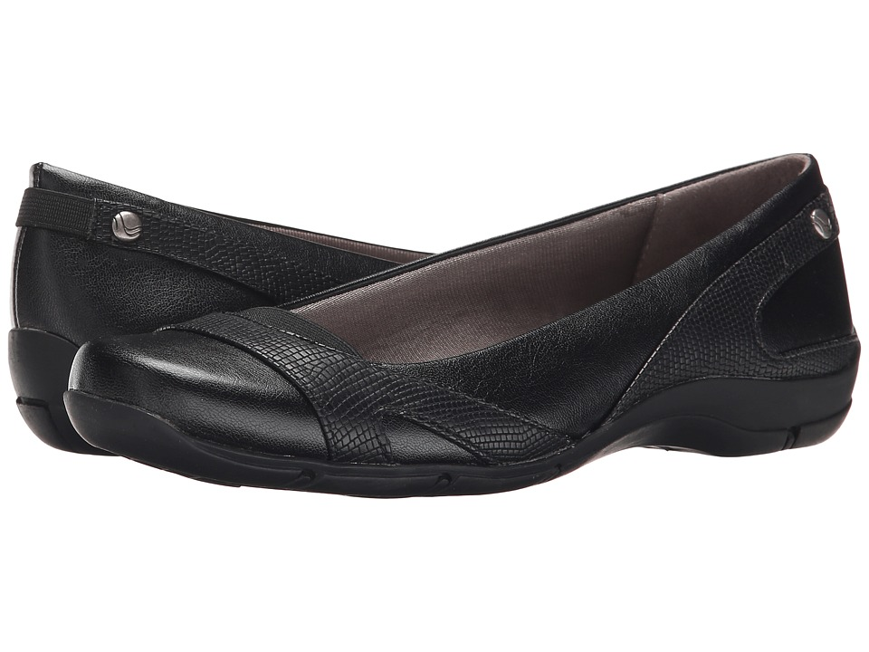LifeStride Drama Black Womens Shoes