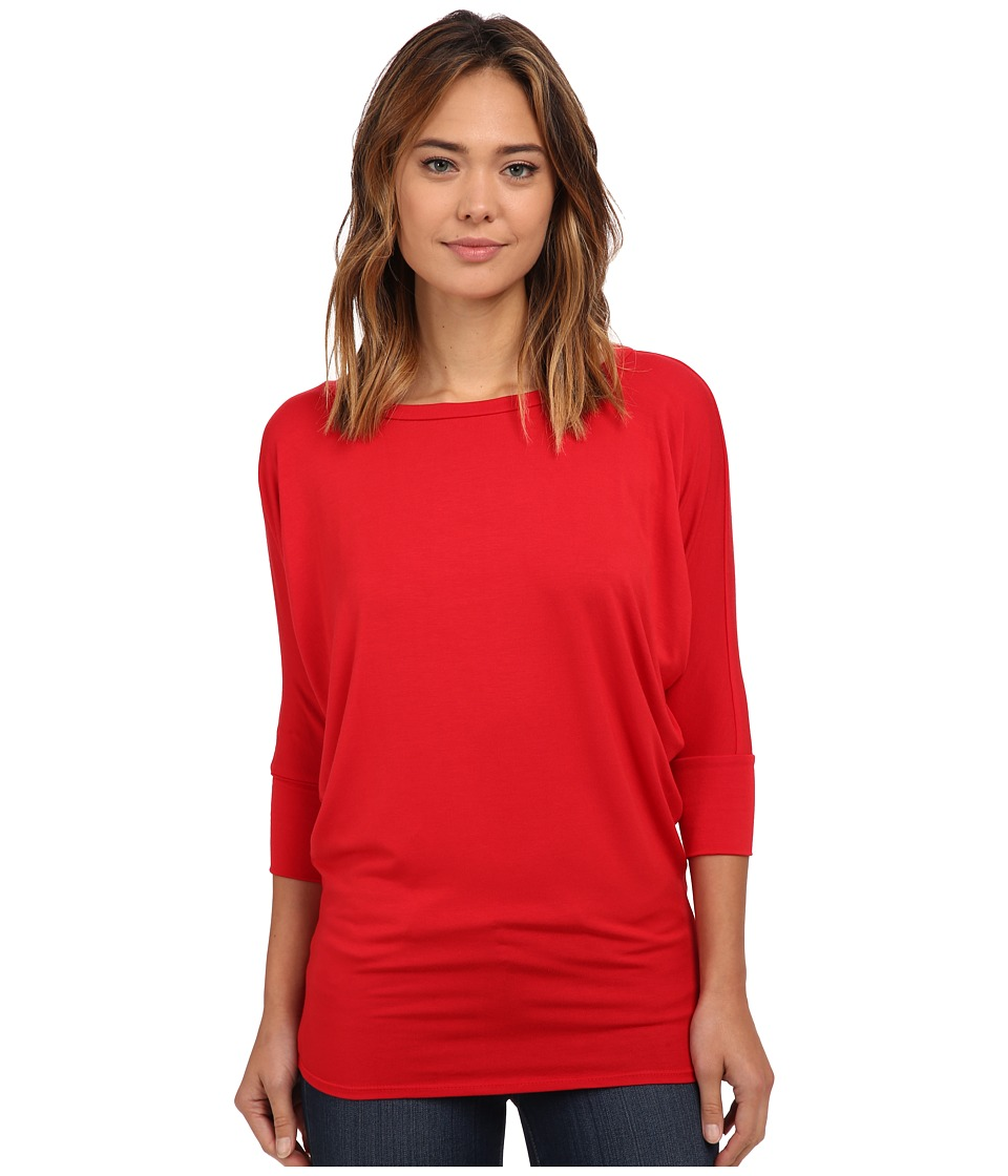 Culture Phit Lara Modal Top (Red) Women