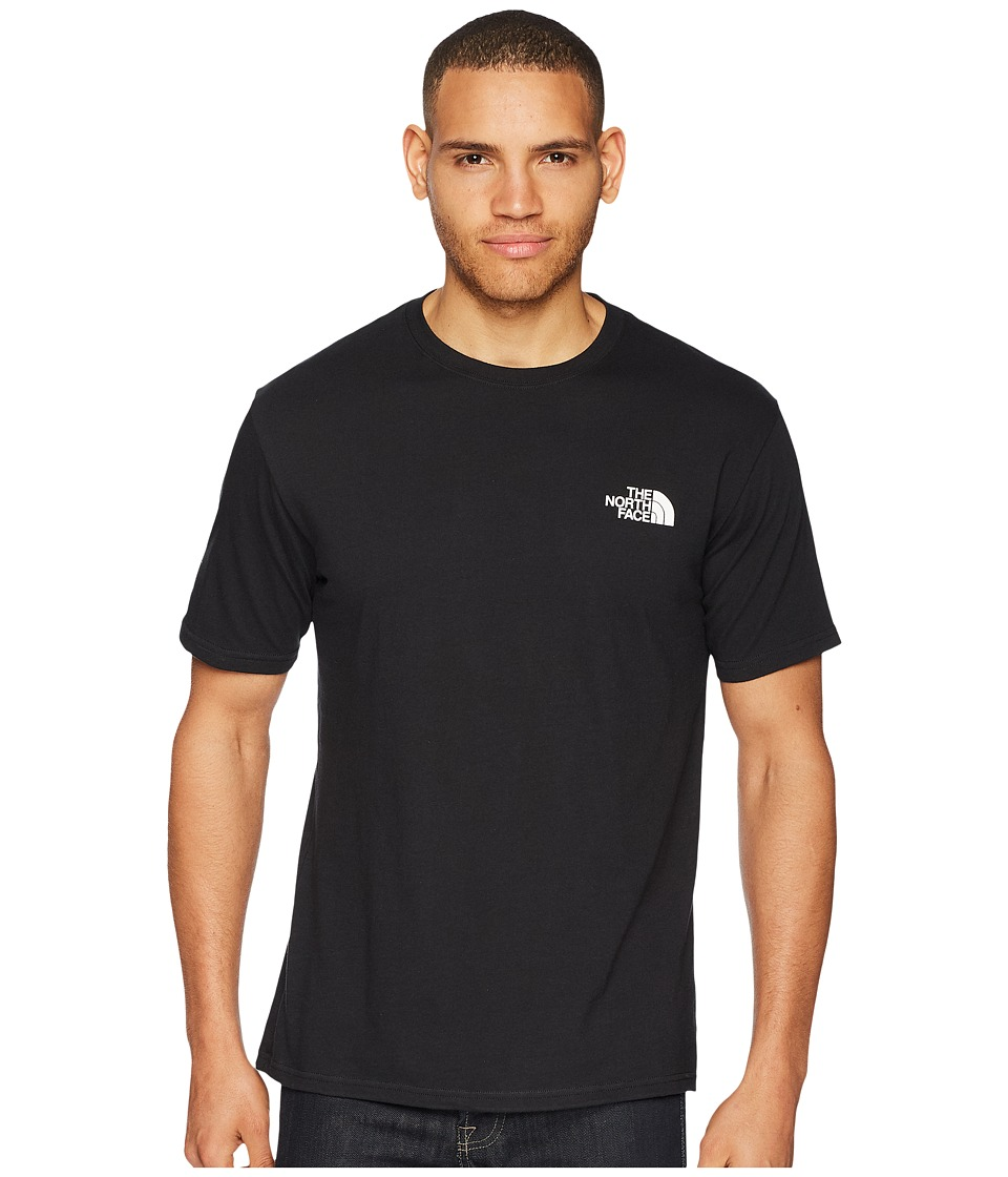 The North Face - Short Sleeve Red Box Tee (TNF Black/TNF White) Mens T Shirt