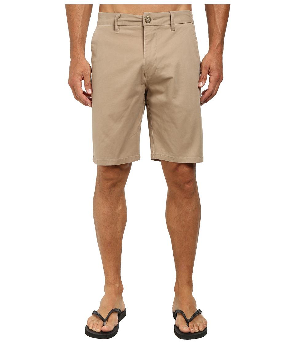Rip Curl Epic Overdye Walkshorts Khaki 1 Mens Shorts