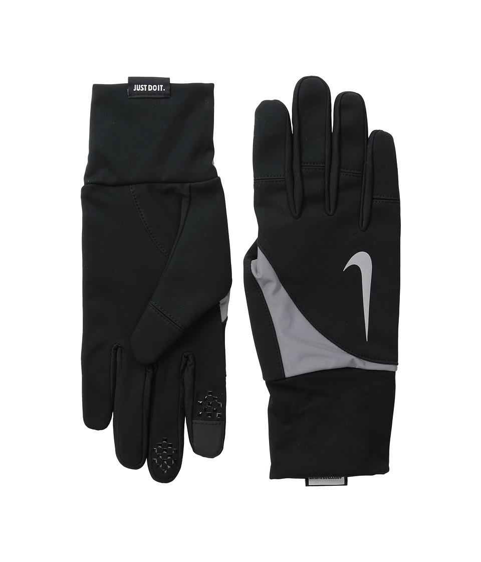 Nike Shield Run Gloves Black Athletic Sports Equipment