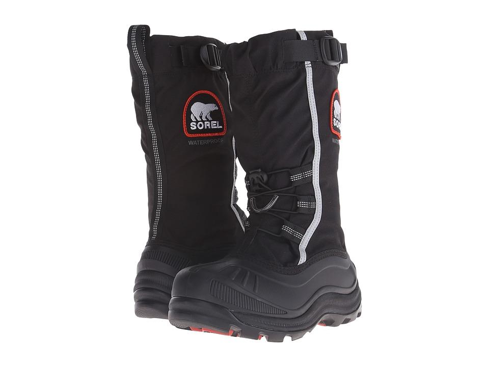 SOREL - Alpha Pac II (Black/Red Quartz) Womens Cold Weather Boots