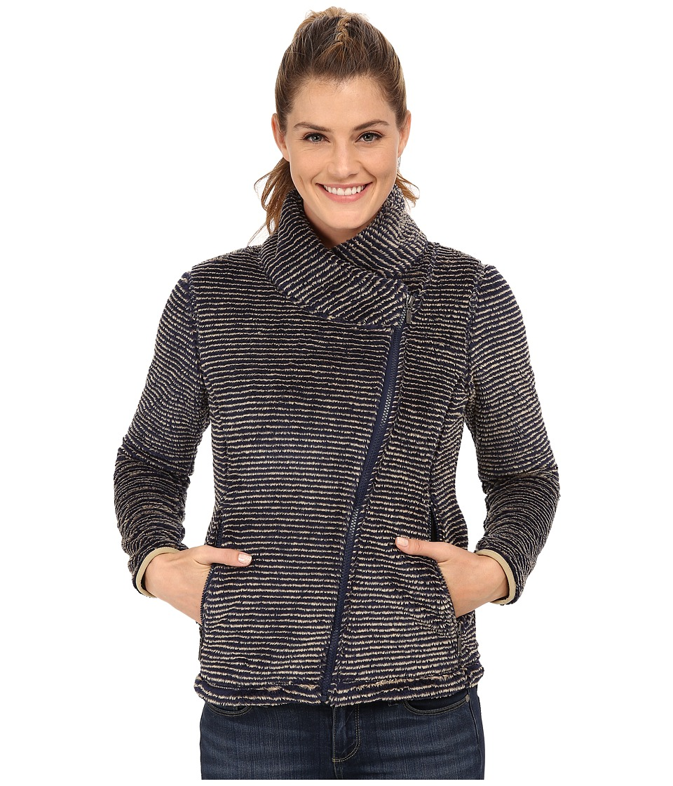Mountain Khakis Wanderlust Fleece Jacket (Navy) Women